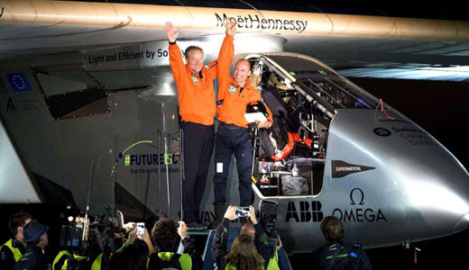 [213] Solar Impulse 2 completes round-the-world solar flight