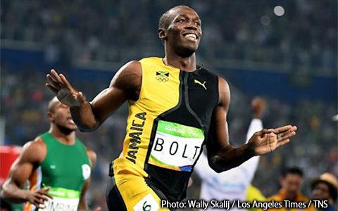 [215] Jamaican runner Usain Bolt