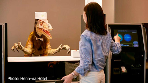 [167] Japan draws tourists to new theme hotels