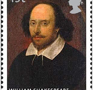 [197] English playwright William Shakespeare