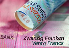 [140] Swiss Franc skyrockets
